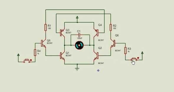 H-Bridge-motor-driver-circuit